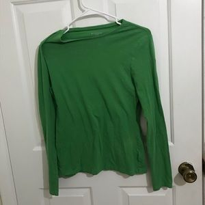 5/$45 NOBO Size L Long Sleeve Green Top